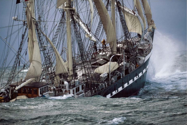 French barque Belem