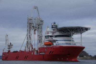 Fugro Synergy drill ship